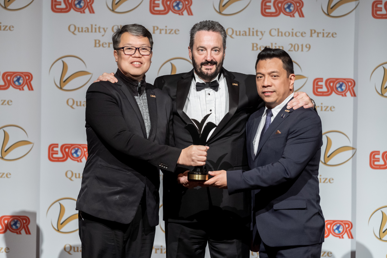 Megaworld International wins the Quality Choice Prize 2019 in Berlin