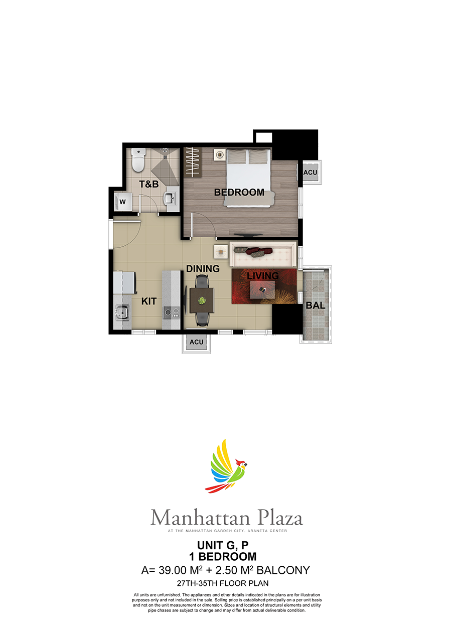 Manhattan Plaza Tower 2 27th 35th Floor Unit 5