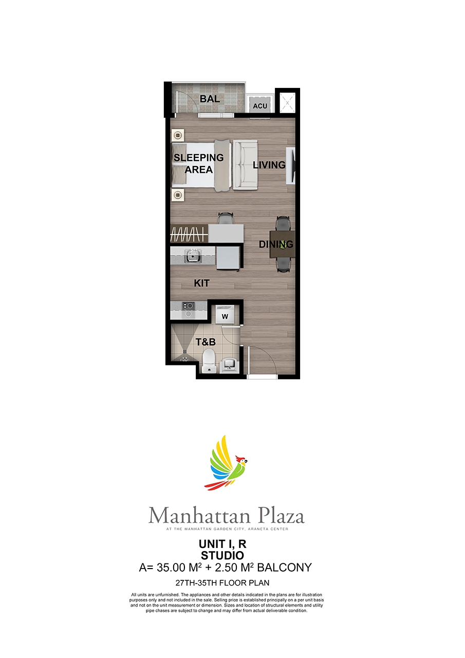 Manhattan Plaza Tower 2 27th 35th Floor Unit 7