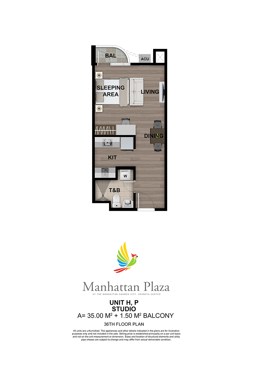 Manhattan Plaza Tower 2 36th Floor Unit 5