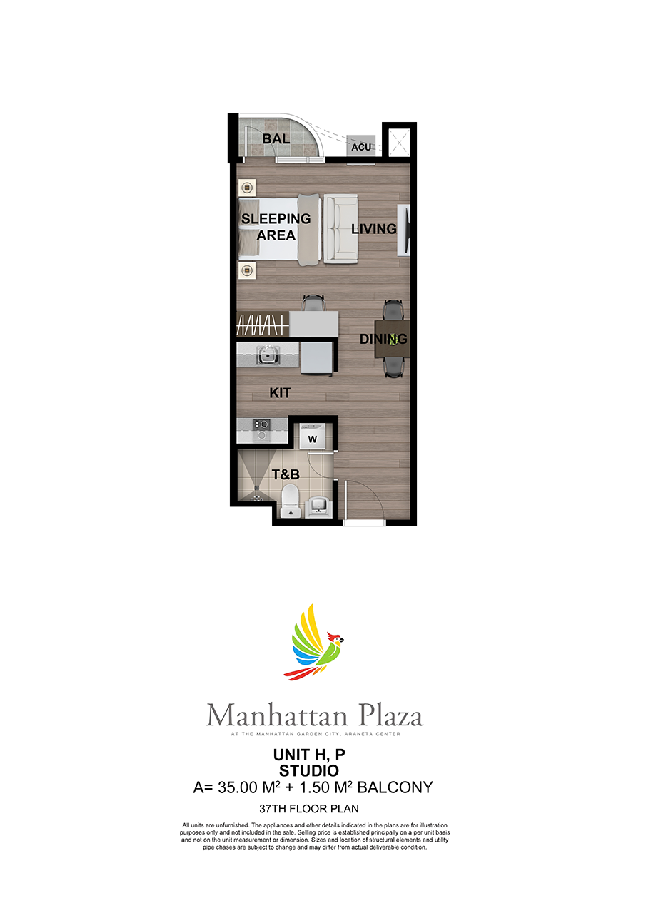Manhattan Plaza Tower 2 37th Floor Unit 5