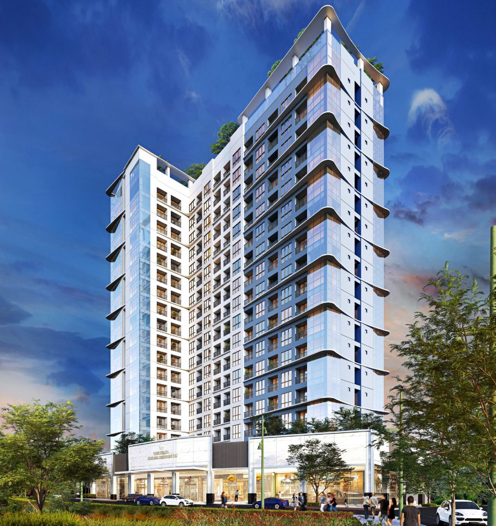 The Pearl Global Residences Facade