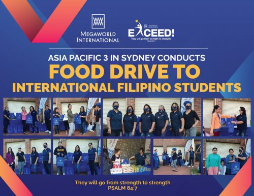 Asia Pacific 3 Food Drive